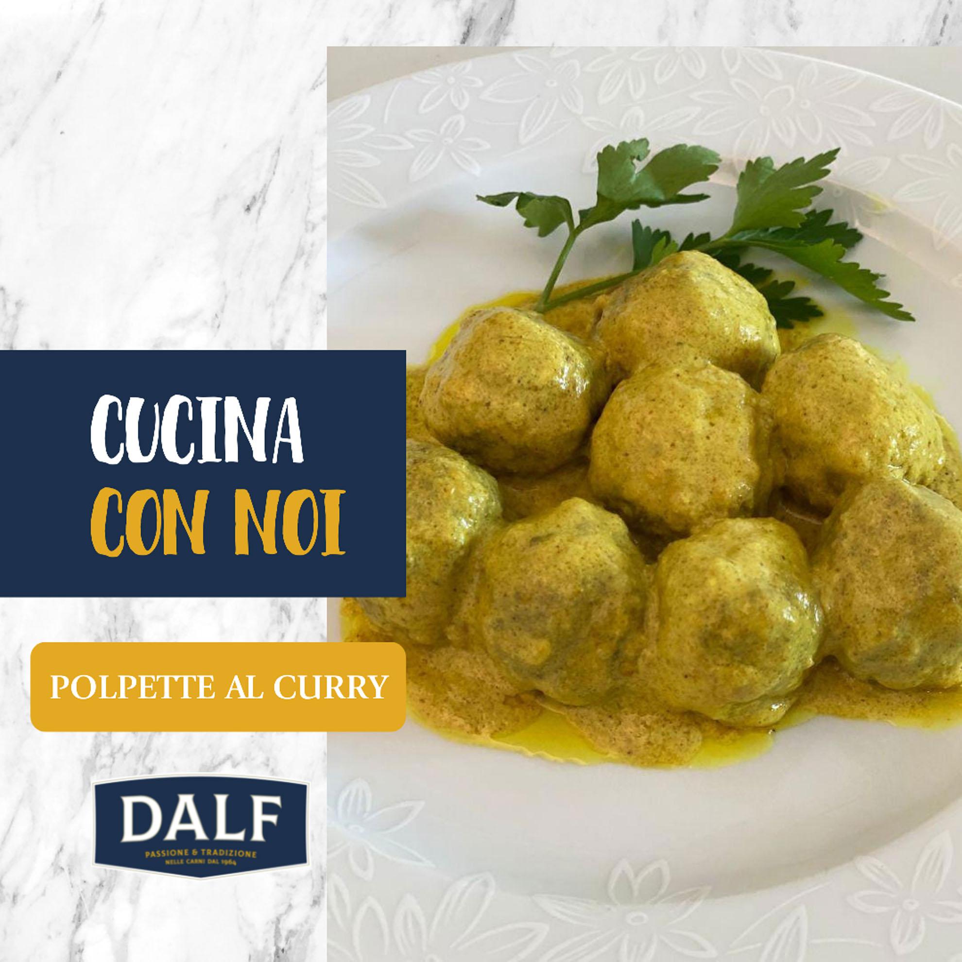 DALF Ricette – Polpette al Curry-1